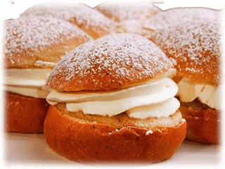 Semlor hos Ocean Play & Golf i Lund